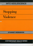 Into Adolescence: Stopping Violence Workbook