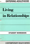 Entering Adulthood: Living In Relationship Workbook