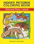 Hidden Picture Coloring Book