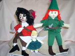 Rev Story-telling Doll Peter Pan