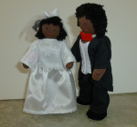 Bride and Groom Black