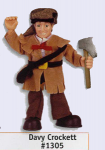 Davy Crocket Posable Figure