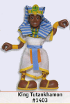 King Tut Posable Figure