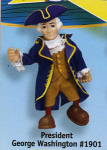 George Washington Posable Figure