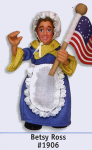 Betsy Ross Posable Figure