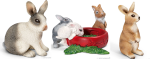 Schleich Rabbit Family-3 pc