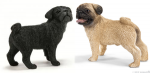 Schleich Mr and Mrs Pug-2 pc