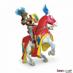 Knight w/Red Helmet-Horse w/Blue Wings