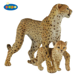 Papo Cheetah with Cub