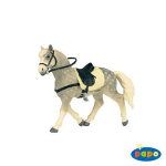 Papo Andalusian Horse w/Saddle