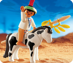 Playmobil Indian Child w/Pony