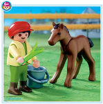 Playmobi Child with Foal