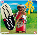 Playmobil Zulu Warrior