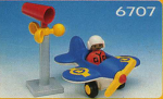 Playmobil Air Plane W/Pilot