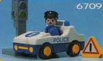 Playmobil Police Car W/Officer