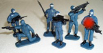 Swat Team Figures-6 asst