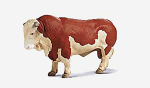 Schleich Bull-Brown and White Hereford