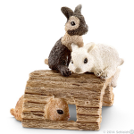 Schleich Rabbit Babies Playing