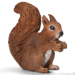 Schleich Squirrel Eating