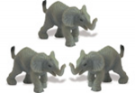 Safari Mini Elephants 3 Pack