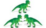 Safari Mini T-Rex 3 Pack