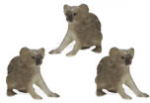 Safari Mini Koalas with Babies 3 Pack