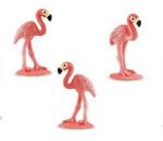 Safari Mini Flamingos 3 pack