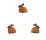 Safari Mini Rabbits 3 Pack