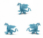 Safari Mini Ice Dragon 3 Pack