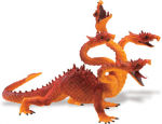 Safari 4 Headed Dragon Orange